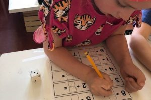Dice Math In First Grade