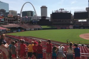 PE: 1st/2nd to Busch Stadium for a tour