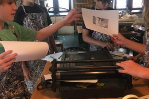 Can we pressure print with water leaves? Studio 09.17.18