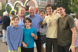 PE: Olympic Rings Unveiling at Wash U.
